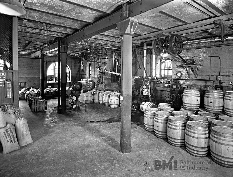 American Malt Company barrels