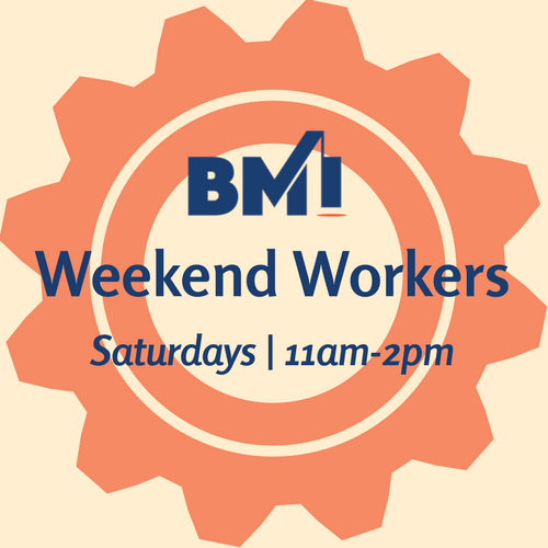 Weekend Workers graphic