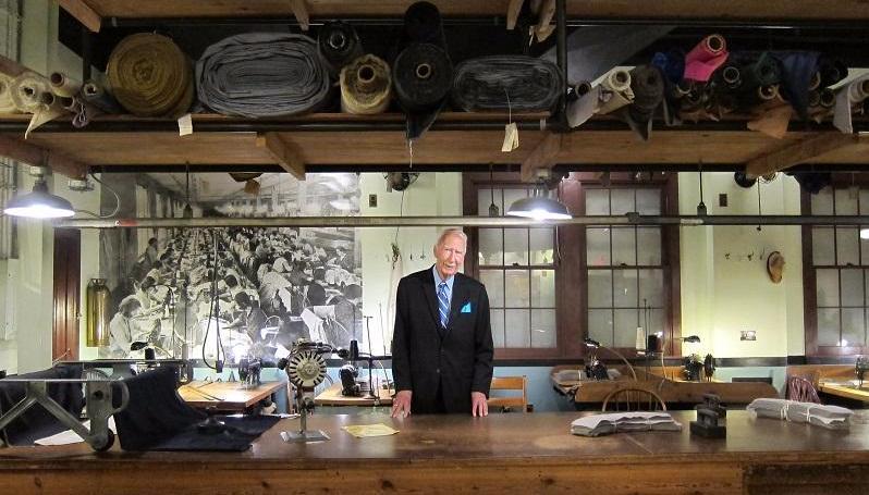 Ed Hawkins in Garment Loft