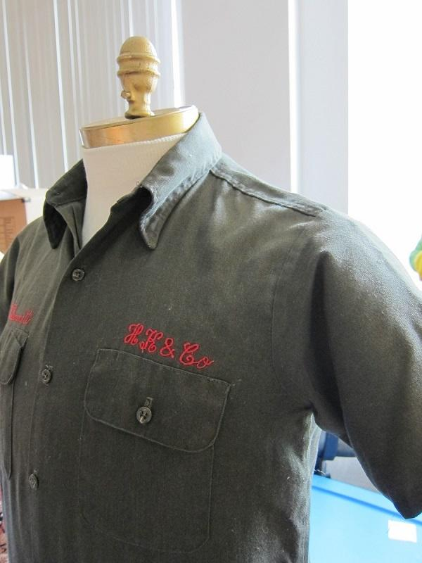 Men_s work shirt