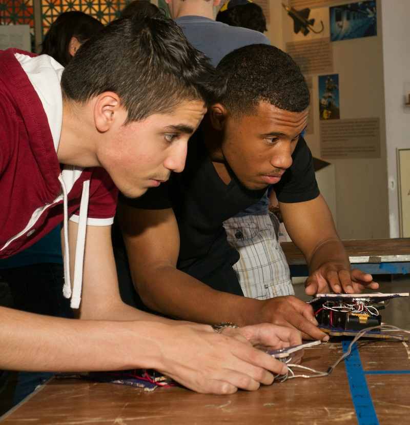engineering challenge students