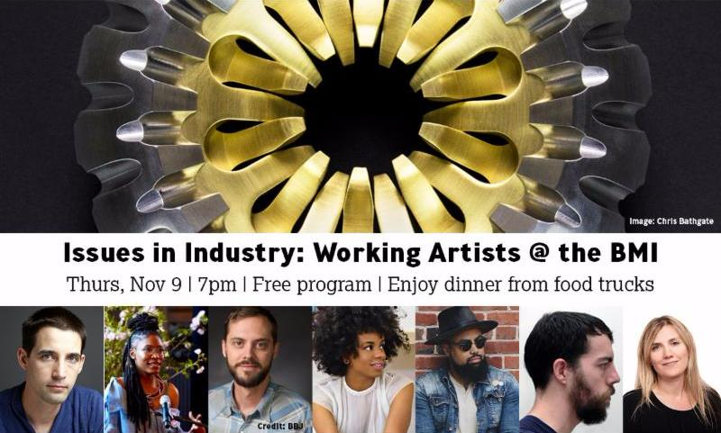 Working Artists panel