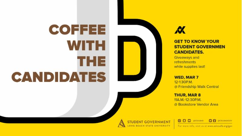 Coffee with the Candidates!