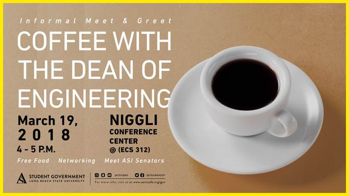 Coffee with the Dean of Engineering Promotion