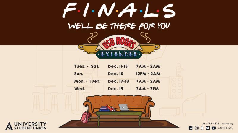 Finals Week USU Hours