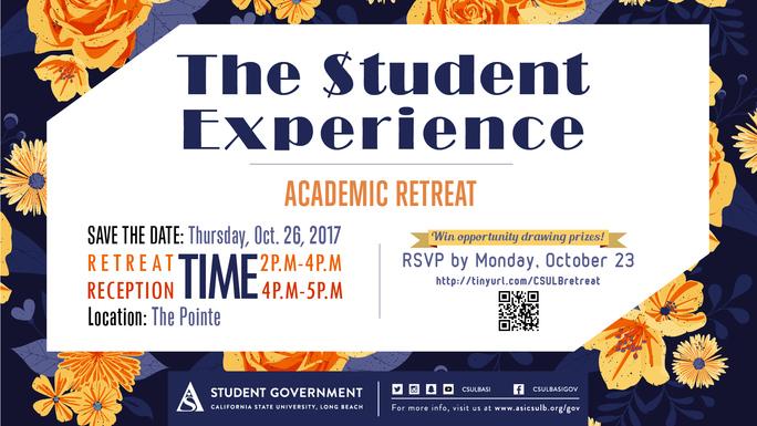 Attend the 2017 Academic Senate Retreat Info