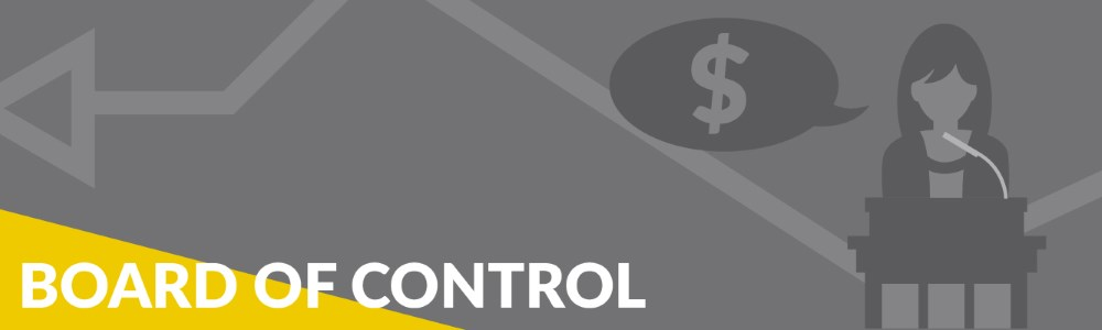 Board of Control Banner