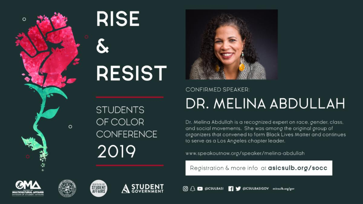 Help foster solidarity among your fellow students at the Students of Color Conference on Nov. 2 in the USU Ballrooms.