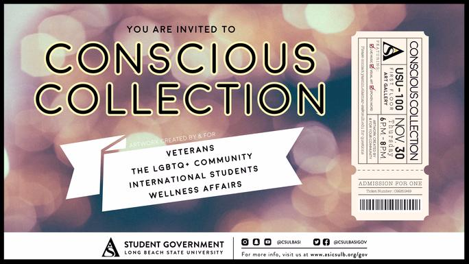 Conscious Collection Event Invitation