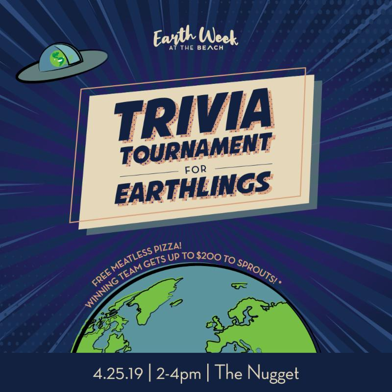 Trivia Tournament on Thursday April 25 from 2 to 4 pm at the Nugget