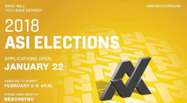 ASI Elections are here!