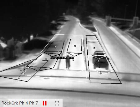 Bike detection screen shot
