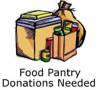 Food Pantry Items Needed