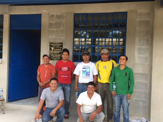 Community leaders work together to build a new school in Palo Blanco