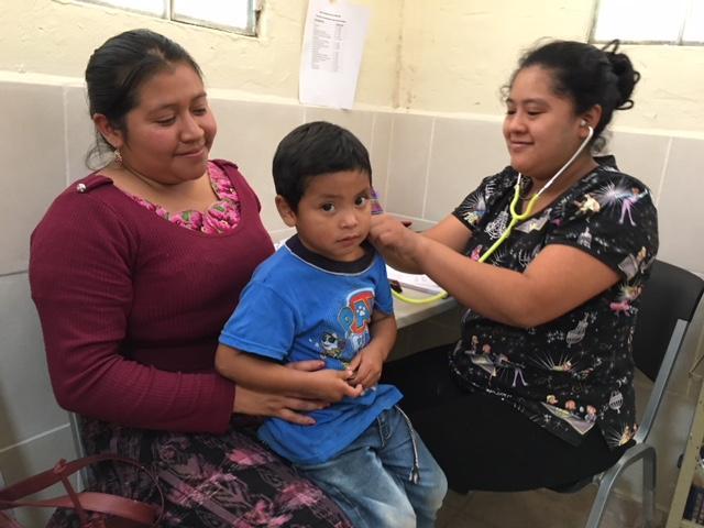 Alejandra in El Sapito clinic