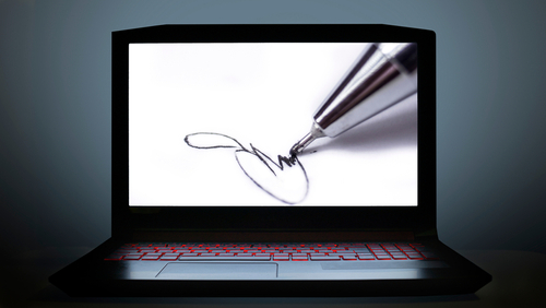 Electronic signatures (e-signatures) reduce the myriad hassles encountered by businesses when it comes to paper documents.