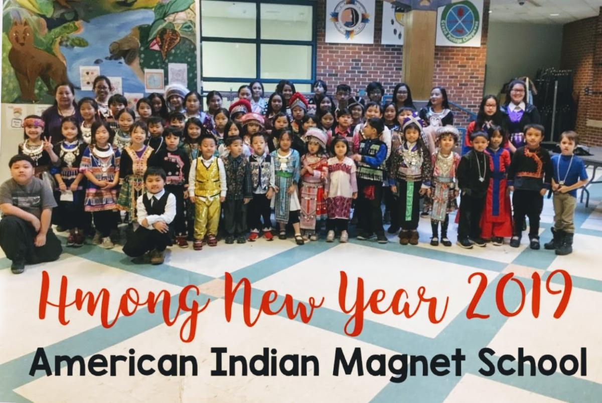 Hmong New Year at American Indian Magnet