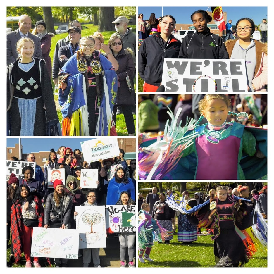 Indigenous Peoples Day parade