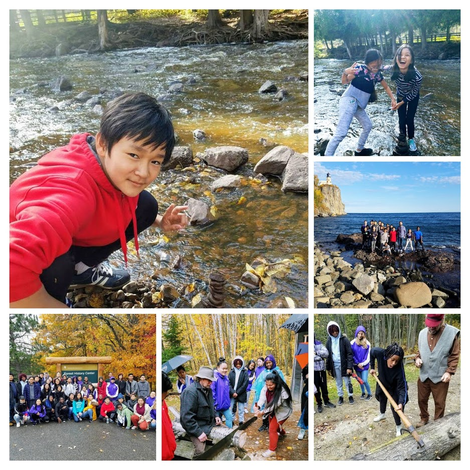 Washington Students on field trip