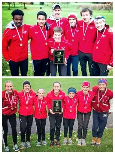 Highland Park Senior High School cross country teams