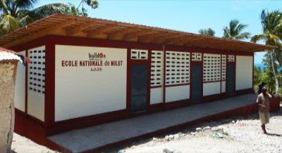 AWB design in southwest Haiti, survived Hurricane Matthew