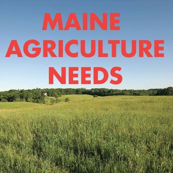 logo for Maine agriculture needs