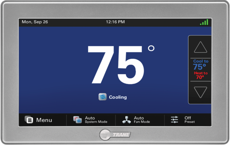 American Standard Platinum 1050 Connected Control With Built In Nexia Bridge Now Available Click Here For More Information