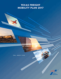 Texas Freight and Mobility Plan cover screenshot
