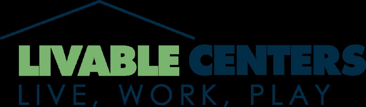 Livable Centers - Live Work Play Wordmark