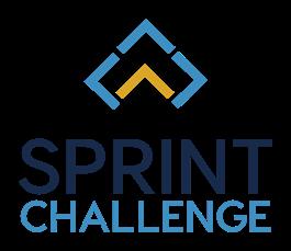 Sprint Challenge printed under stylized carat