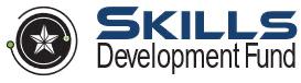 Skills Development fund logo beside Texas star