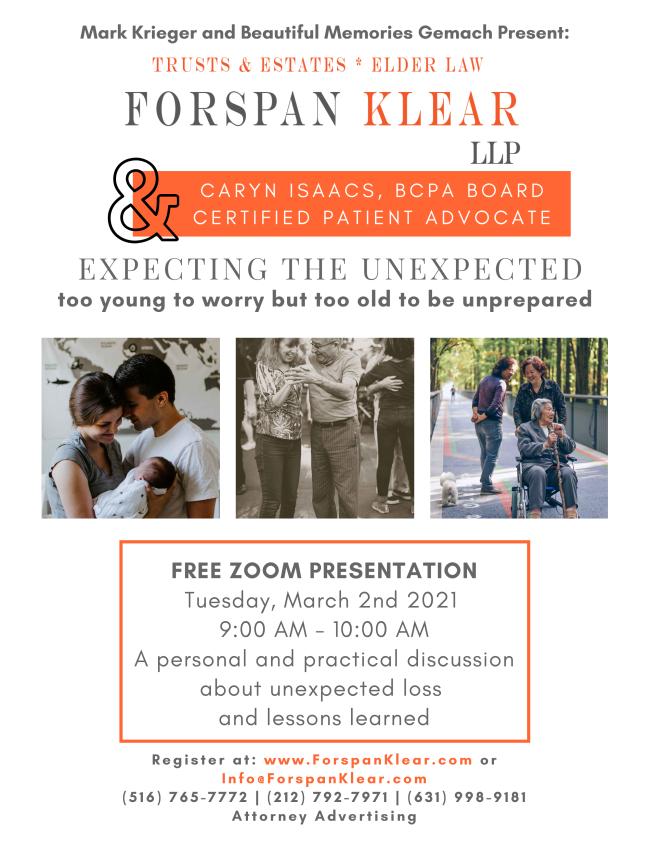 Forspan Klear LLP / Caryn Isaacs Seminar