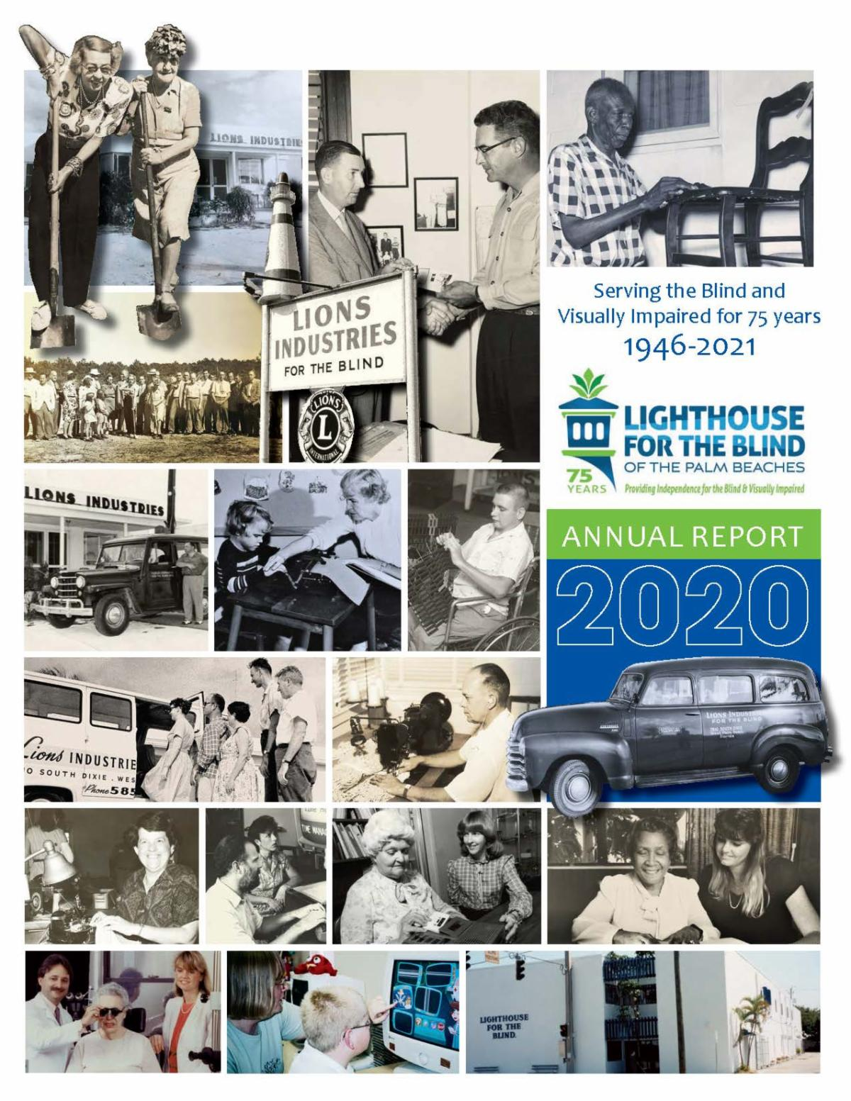Front Cover of Lighthouse Annual Report