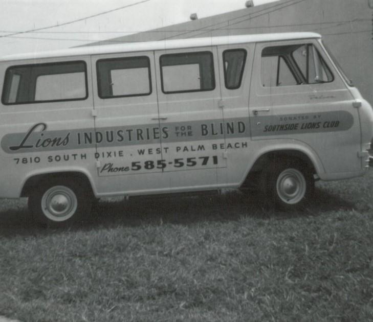 1960's white VW Van