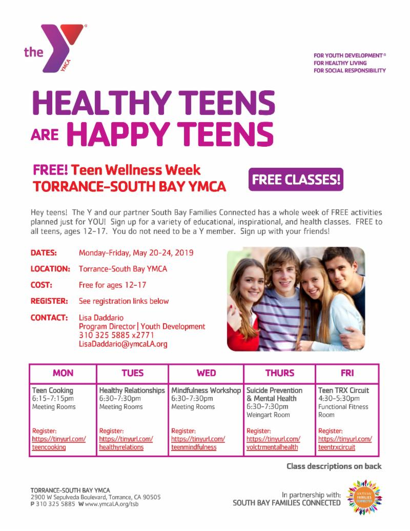 Teen Wellness Week