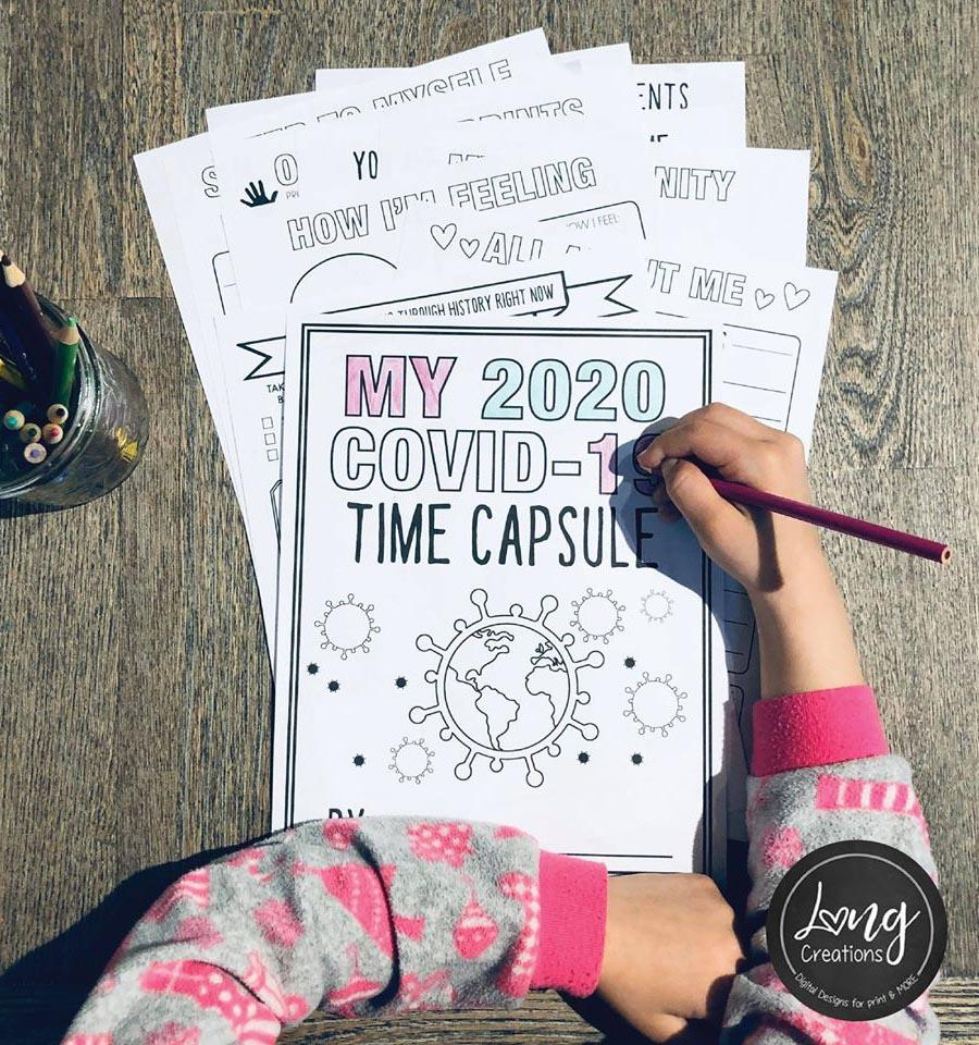 My 2020 COVID-19 Time Capsule by LONG Creations