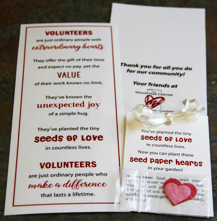National Volunteer Week Gifts