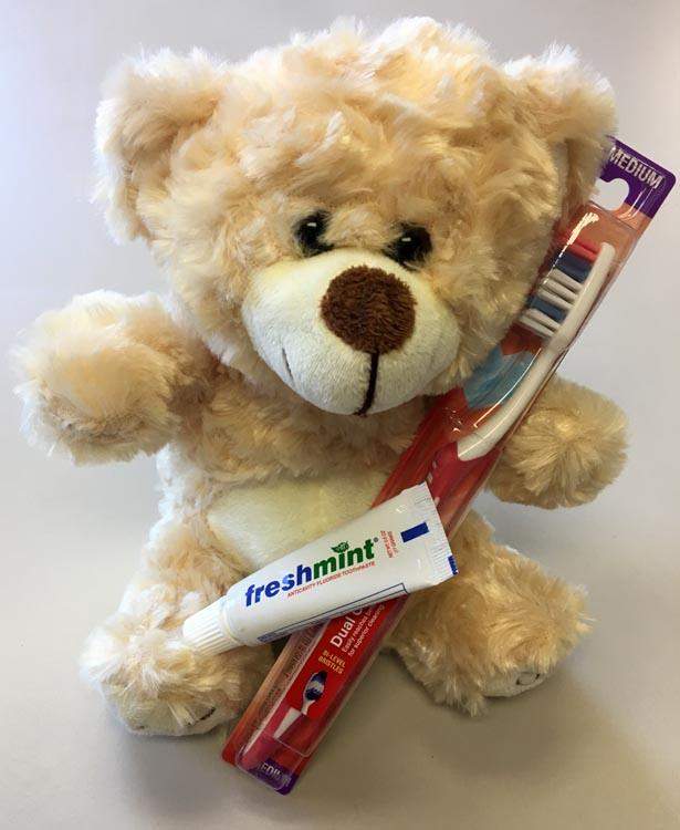 Operation Teddy Bear Dental Supply Drive