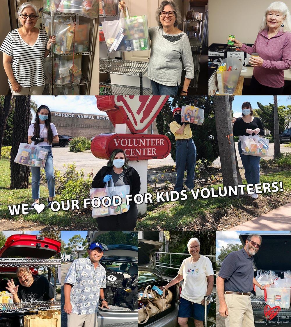 We love our Food For Kids Volunteers