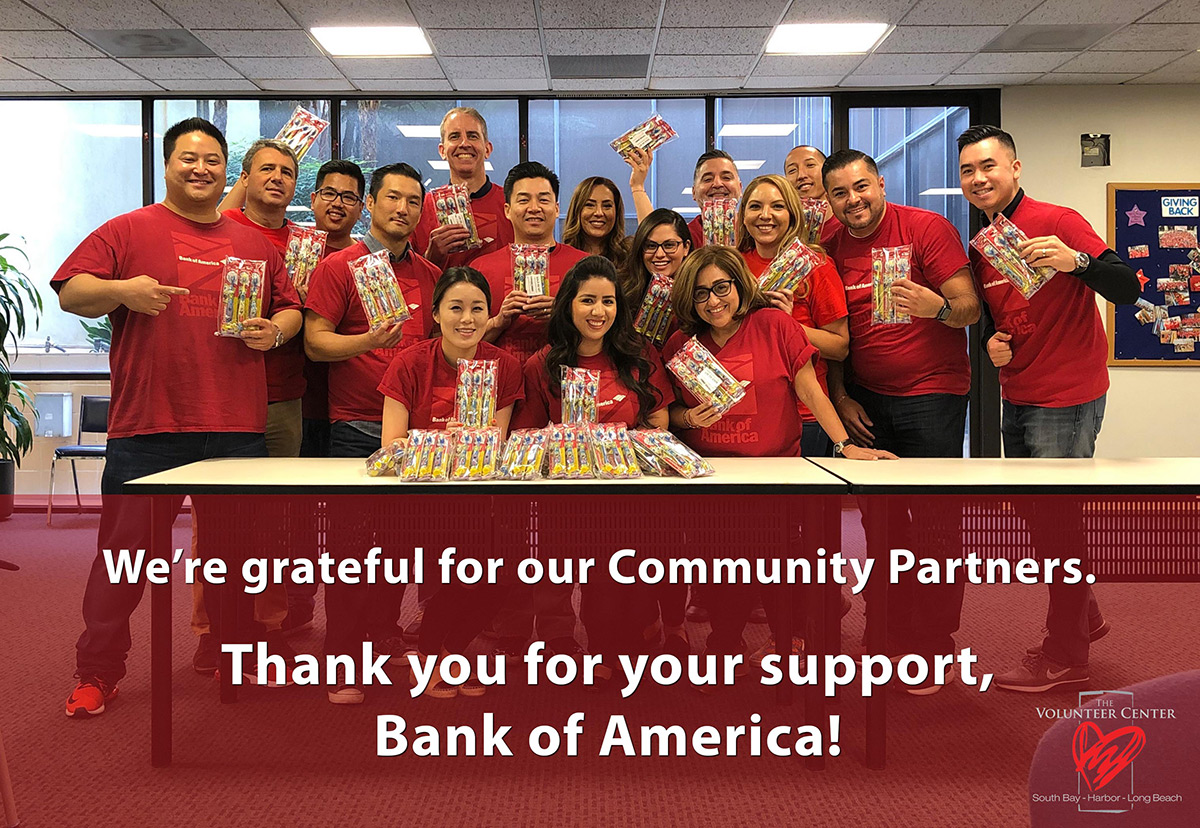 We are grateful for our community partners_