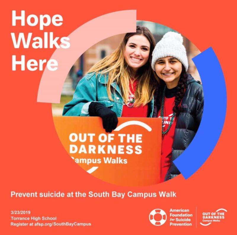Out of the Darkness South Bay Campus Walk - Saturday_ March 23_ 2019