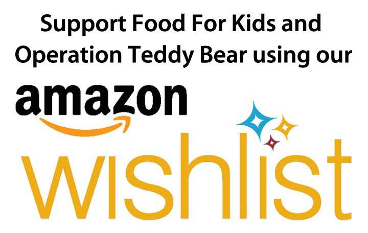 Support us using our Amazon Wishlist