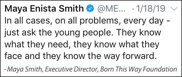 Maya Smith Quote