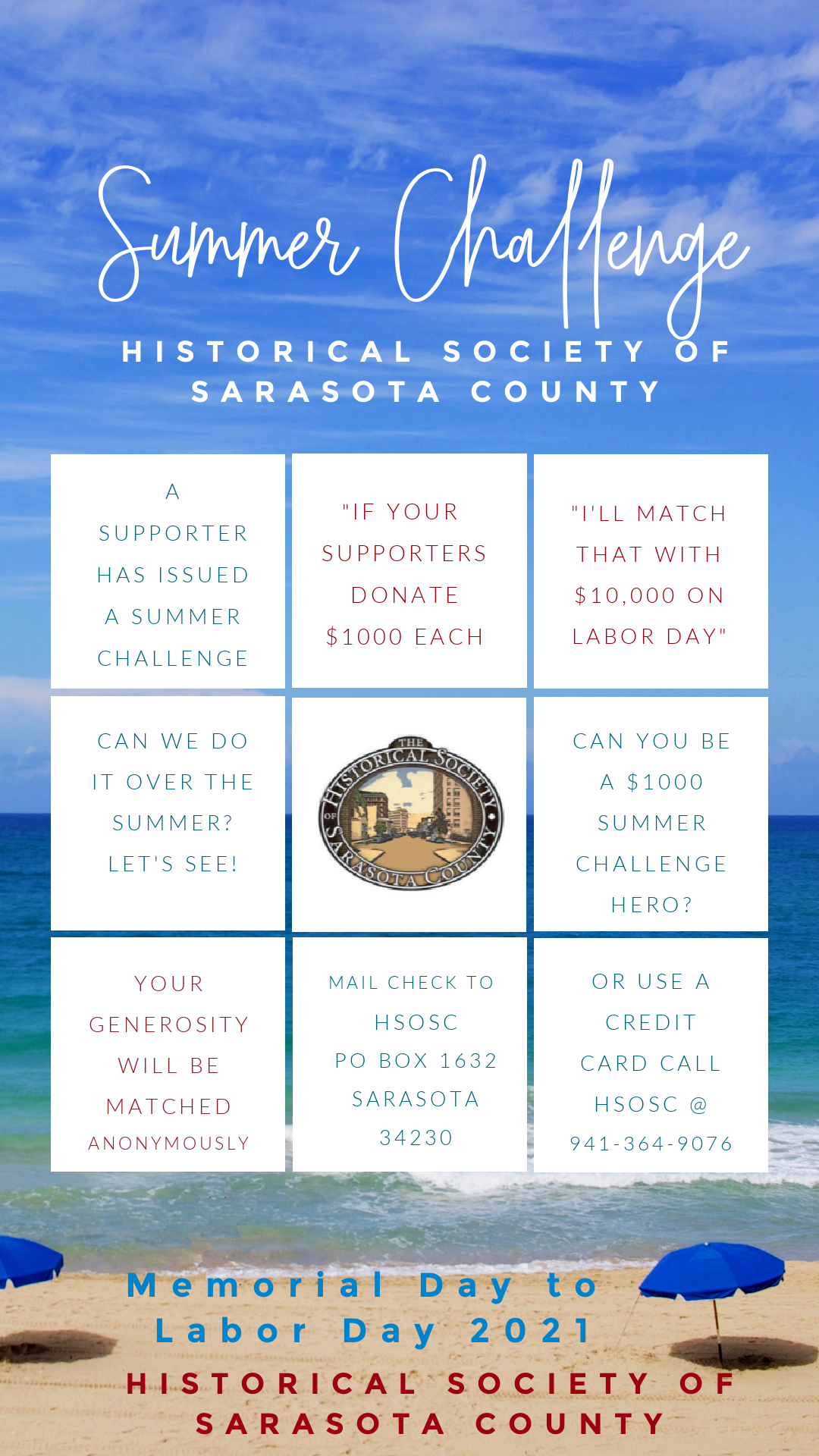 The HSoSC Summer Challenge is on!
