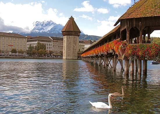 Chapel Bridge_ Lucern