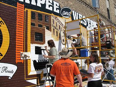 Walldog Mural Festival