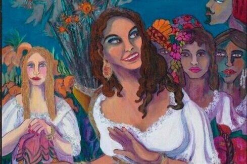 Saint Barbara by Pilar Pobil