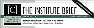 Institute Brief header