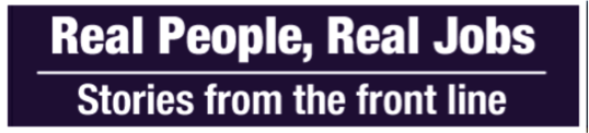 Real People Real Jobs logo