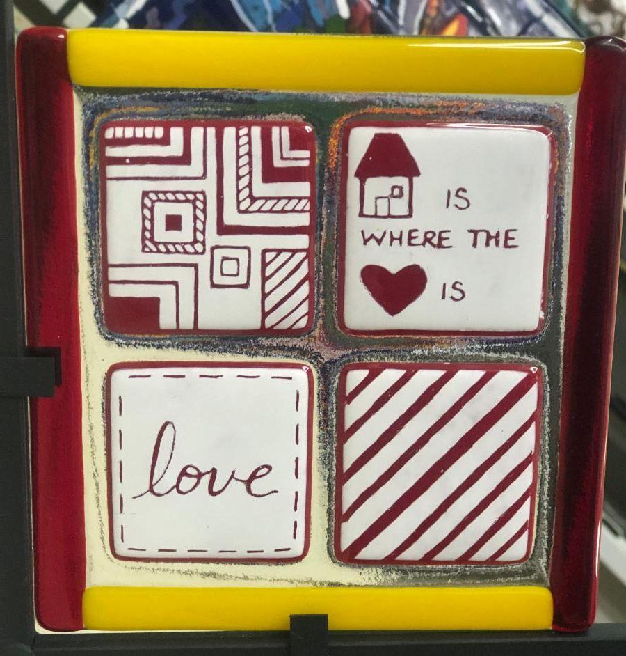 Scratch Tile Platter